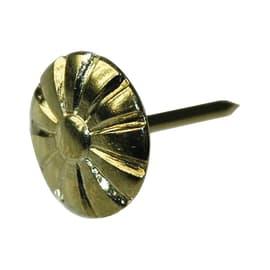 Bulletta testa bombata STANDERS giallo / dorato 9 , 50 pezzi