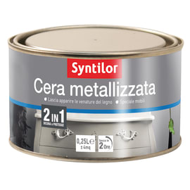 Cera SYNTILOR metallizzata neutro 0.250 L
