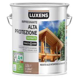 Impregnante a base acqua LUXENS Alta Protezione castagno 2.5 L
