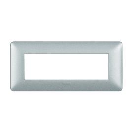 Placca BTICINO Matix 6 moduli bianco calce