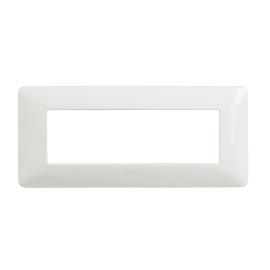 Placca BTICINO Matix 6 moduli bianco