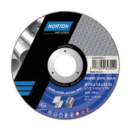 Disco di taglio NORTON Norton expert Inox per multiuso Ø 115 mm