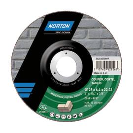 Disco di taglio NORTON per pietra Ø 115 mm