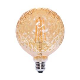 Lampadina decorativa LED Globo giallo E27 6W = 480LM (equiv 45W) 360°