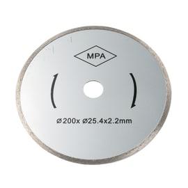 Disco diamantato con corona continua continuo FOX F36-402 Ø 200 mm