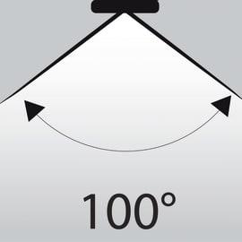 Lampadina LED GU10 riflettore bianco caldo 5W = 345LM (equiv 50W) 100° LEXMAN