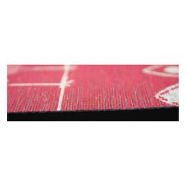 Tappeto Cucina antiscivolo Deco cuore rosso 130x53 cm
