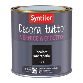 Vernice SYNTILOR Decora tutto 0.5 L madreperla perlato
