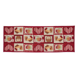 Tappeto Cucina antiscivolo Kentucky multicolor 230x57 cm