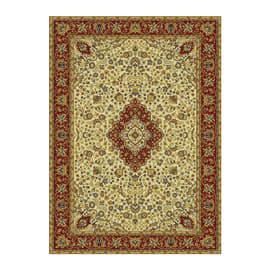 Tappeto persiano Bechir crema 133x190 cm