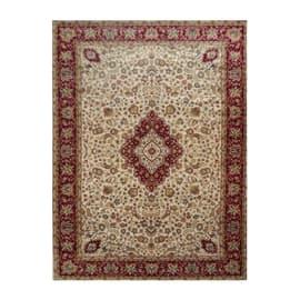 Tappeto persiano Bechir crema 199x285 cm