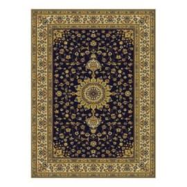 Tappeto persiano Bechir blu 133x190 cm