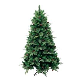 Albero di natale artificiale Cortina verde H 240 cm