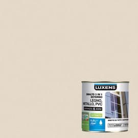 Smalto LUXENS base acqua bianco avorio 0.5 L