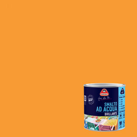 Smalto BOERO FAI DA TE base acqua arancio 0.5 L