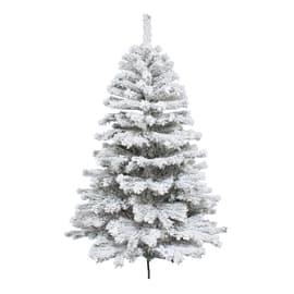 Albero di natale artificiale Super Snow King 210 cm bianco H 210 cm
