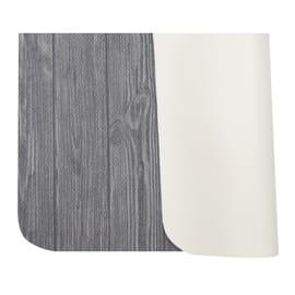 Tappeto Cucina antiscivolo Full legno grigio 230x55 cm