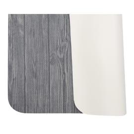 Tappeto Cucina antiscivolo Full legno grigio 280x55 cm
