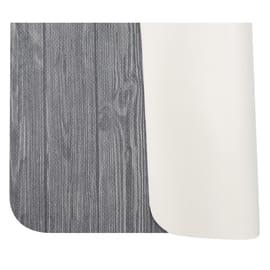 Tappeto Cucina antiscivolo Full legno grigio 75x55 cm