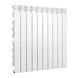 Radiatore acqua calda Klassic 800/100 in alluminio 10 elementi interasse 80 cm
