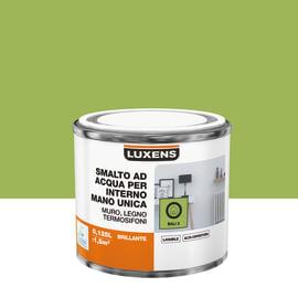 Smalto LUXENS base acqua verde bali 3 lucido 0,125 L