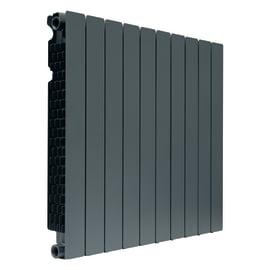 Radiatore acqua calda PRODIGE BY FONDITAL Modern in alluminio 10 elementi interasse 70 cm
