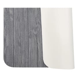 Tappeto Cucina antiscivolo Full legno grigio 100x55 cm