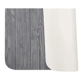 Tappeto Cucina antiscivolo Full legno grigio 130x55 cm