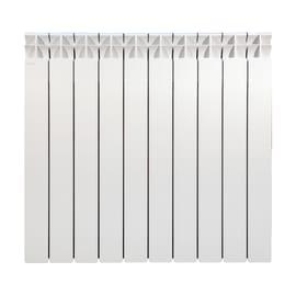 Radiatore acqua calda Klassic 700/100 in alluminio 10 elementi interasse 70 cm
