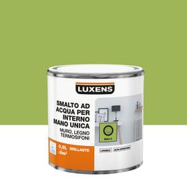 Smalto LUXENS base acqua verde bali 3 lucido 0.5 L