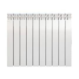 Radiatore acqua calda Klassic 600/100 in alluminio 10 elementi interasse 60 cm