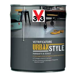 Vetrificatore per parquet V33 Urban Style nero lucido 2.5 L