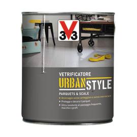 Vetrificatore per parquet V33 Urban Style grigio zinco medio satinato 2.5 L
