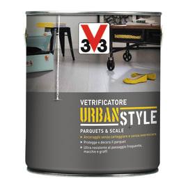 Vetrificatore per parquet V33 Urban Style nero lucido 0.75 L