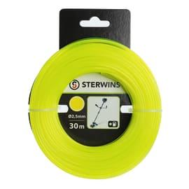 Filo STERWINS per decespugliatore L 30 m Ø 2.5 mm