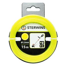 Filo STERWINS per decespugliatore L 15 m Ø 1.5 mm