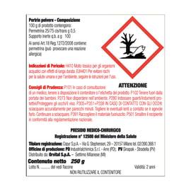 Insetticida polvere per formiche Antiformiche 250