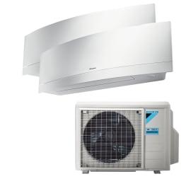 Climatizzatore dualsplit DAIKIN 2MXM40M/FTXJ25MW+FTXJ35MW 13600 BTU classe A++