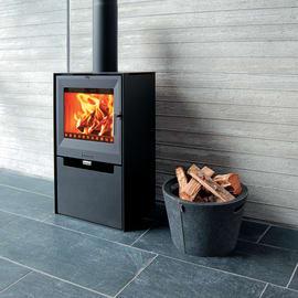 Stufa a legna Aduro 14 6.5 kW nero