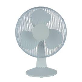 Ventilatore da appoggio EQUATION FT40-16JA bianco 40 W Ø 40 cm