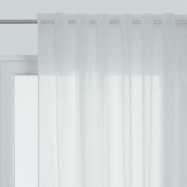 Tenda Lucia bianco passanti nascosti 140x300 cm