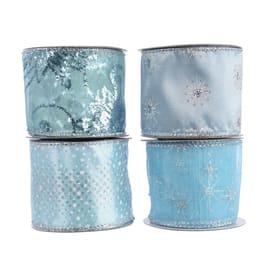 Ornamento appeso blu Ø 8 cmL 8 x H 270 cm