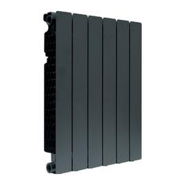 Radiatore acqua calda FONDITAL Modern in alluminio 6 elementi interasse 60 cm