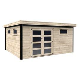 Casetta da giardino in legno Evelin 16.83 m² spessore 28 mm