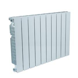 Radiatore acqua calda FONDITAL Modern in alluminio 10 elementi interasse 50 cm