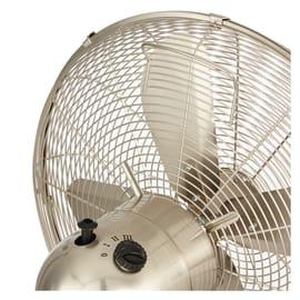 Ventilatore da appoggio EQUATION Cooma cromo 55 W Ø 40 cm
