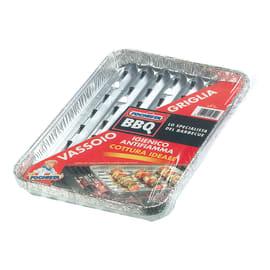 Vassoio Vaschette forate per barbecue a carbone (5pezzi)