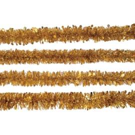 Ghirlanda giallo / dorato L 200 x H 8 cm , Ø 8 cm