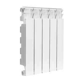 Radiatore acqua calda Klassic 500/100 in alluminio 5 elementi interasse 50 cm