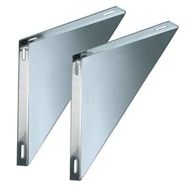 Staffa Coppie supporti per piastre mono parete DN 80 L 180 x H 30 mm Ø Dn 80 Mono parete mm